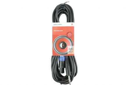 Chord Speaker Lead - 6.3mm Jack to SPK Plug 6M